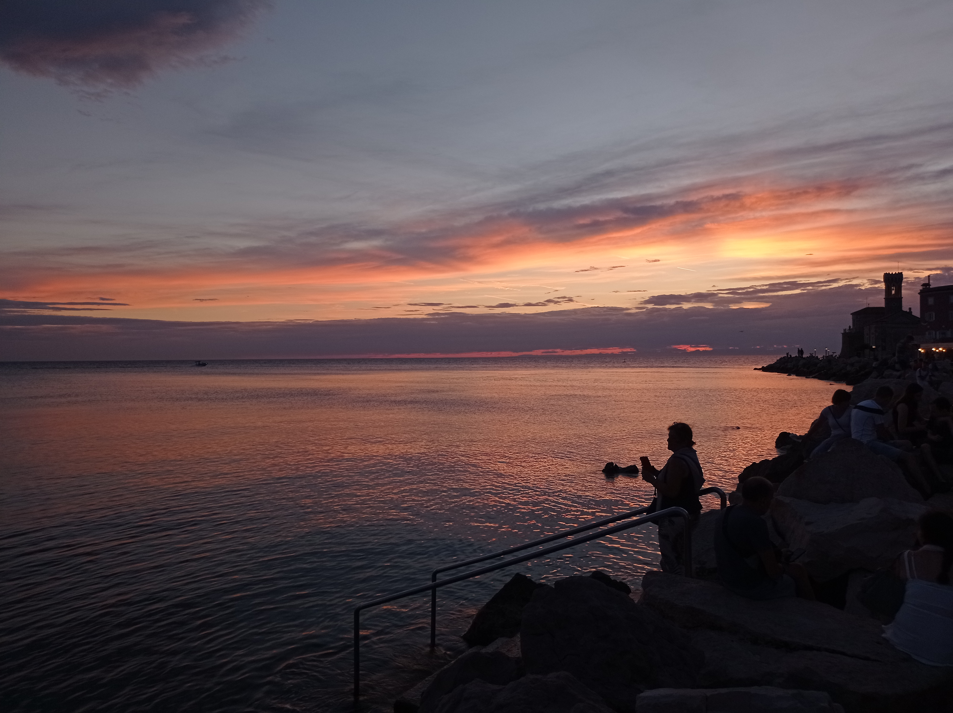 Západ Slunce v Piranu